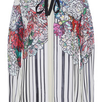 Silk Georgette Long Sleeve Shirt | Moda Operandi