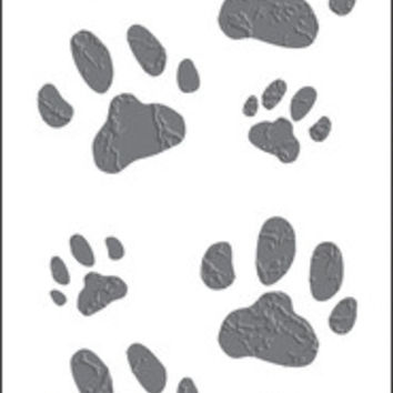 "mrs. grossman's cat paws stickers - 6.5"" x 2"""