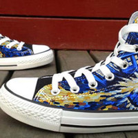 Doctor Who  Custom High Top Canvas Shoes for Women,men by HightShoes