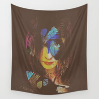 Chrysalis Wall Tapestry by Galen Valle