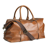 H&M - Weekend Bag - Light brown - Men