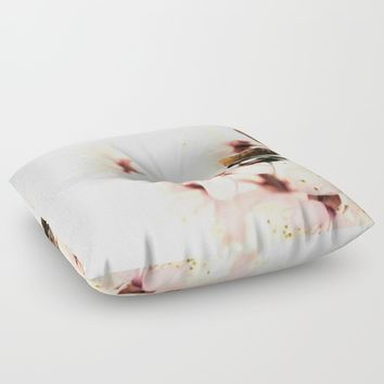 Blossoms Floor Pillow by ARTbyJWP