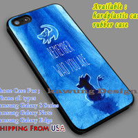 The Lion King Quote iPhone 6s 6 6s+ 5c 5s Cases Samsung Galaxy s5 s6 Edge+ NOTE 5 4 3 #cartoon #disney #animated #theLionKing dl7