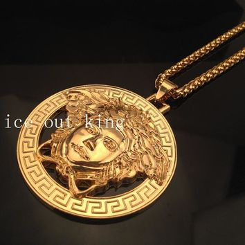 Gift New Arrival Jewelry Shiny Stylish Alloy Hip-hop Necklace [6542717507]