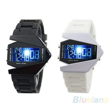 COOL Men's Oversized Light Digital Sports Quartz RUBBER Wrist Watches = 1652941316