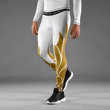 Icarus 2 White Gold Tights for men