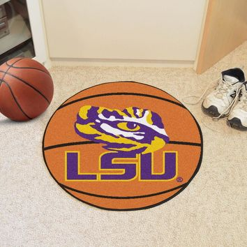 FanMats Louisiana State University LSU Basketball Mat