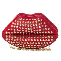 Lips Clutch Bag