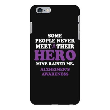 alzheimers awareness iPhone 6/6s Plus Case