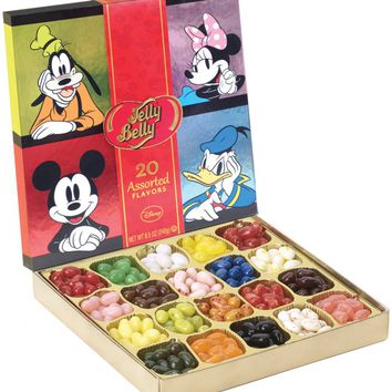 Jelly Belly Disney Ultra Gift Box - Assortment of 20 Flavors of Jelly Beans!