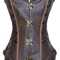 Brown Steam Punk Corset