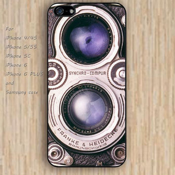 iPhone 5s 6 case watercolor Retro camera lens colorful phone case iphone case,ipod case,samsung galaxy case available plastic rubber case waterproof B521