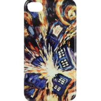 Doctor Who Exploding TARDIS iPhone 4/4S Case