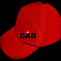 Father's Day Card Photograph Greeting Card - The Red Baseball Cap.