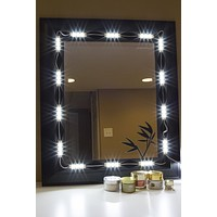 Makeup mirror white LED light package premium series