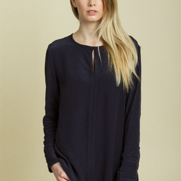 Modern Navy Pop Top