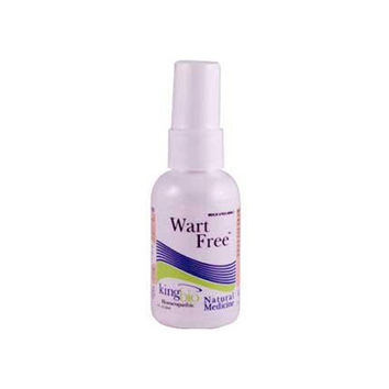 King Bio Homeopathic Wart Free - 2 fl oz