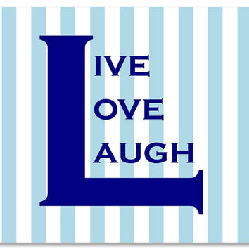 Live Love Laugh II Print Wall Art