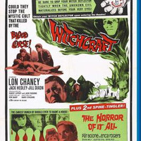 "Witchcraft Double Feature Movie Poster 16""x24"""
