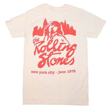Rolling Stones Mick June 1975 T-Shirt