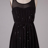 Elegance and Grace Dress - Black