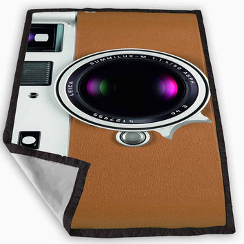 Leica M9-P Camera Blanket for Kids Blanket, Fleece Blanket Cute and Awesome Blanket for your bedding, Blanket fleece **
