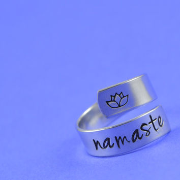 Namaste Wrap Ring - Yoga