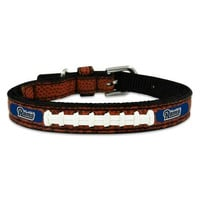 St. Louis Rams Classic Leather Toy Football Collar