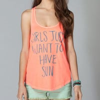 BILLABONG Sun Fun Womens Tank 211395313 | Graphic Tees & Tanks | Tillys.com