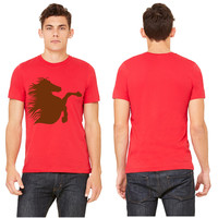 brumby right rearing T-shirt
