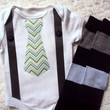 Easter Baby Onesuit and Leg Warmers, Tie and Suspender Onesuit, Toddler Shirt and Arm Warmers