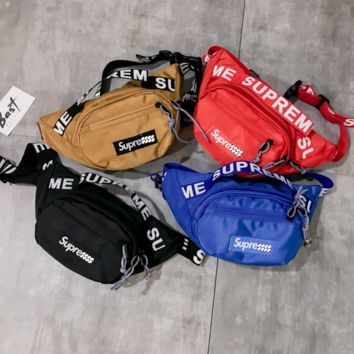 SUPREME CROSS WAIST BAG