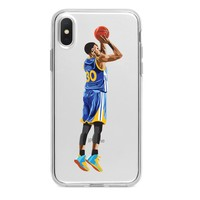 STEPH CURRY CLUTCH JUMPER CUSTOM IPHONE CASE