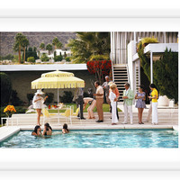 Slim Aarons, Pool Party, Palm Springs, Photographs