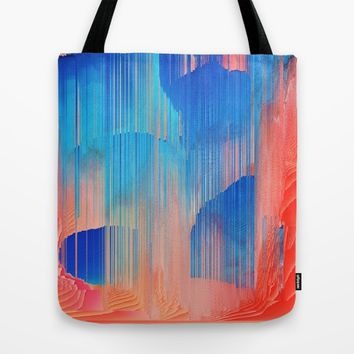 Hot n' Cold Tote Bag by Ducky B