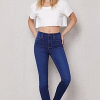 PacSun Dallas Blue Super High Rise Skinny Jeans at PacSun.com