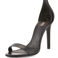 Cadey-Lee Leather Ankle-Strap Sandal, Black - Schutz - Blk
