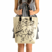 Diamond Girl Summer Shoulder Bag Tote Bag