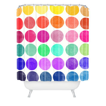 Garima Dhawan Colorplay 6 Shower Curtain