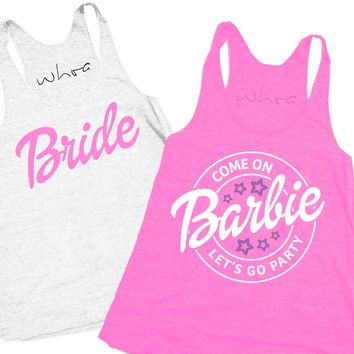 Bride / Come on Barbie Let's Go Party Tank