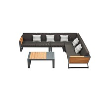 Corner Outdoor Lounge Set | Higold New York