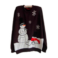 Fashion Casual Pattern Christmas Sweater
