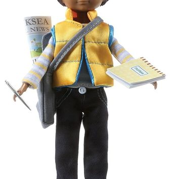 Junior Reporter Sammi Boy Doll - Includes An Issue of School Paper!