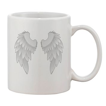 Epic Angel Wings Design Printed 11oz Coffee Mug by TooLoud