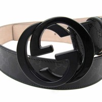 Gucci GG Supreme belt with G buckle Size 100.40