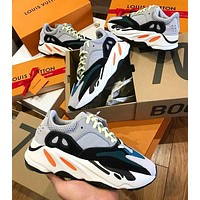 Adidas Yeezy Boost 700 fashion stitching for men and women