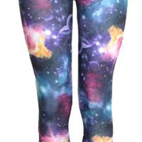 Vip Boutique Galaxy Print Leggings (US 6-8 (UK8-10))