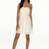 Zoe Embroidered Party Dress
