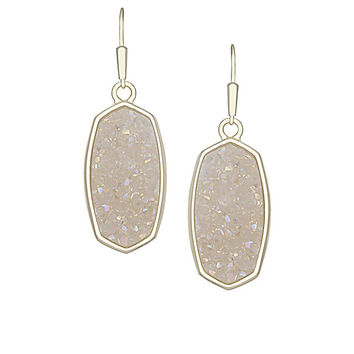 Kendra Scott Danay Earrings In Crystallized Drusy - Multiple Colors
