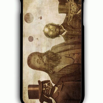 iPhone 6 Plus Case - Hard (PC) Cover with Boba Fett C 3PO Darth Vader Yoda And Chewbacca Star Wars Plastic Case Design